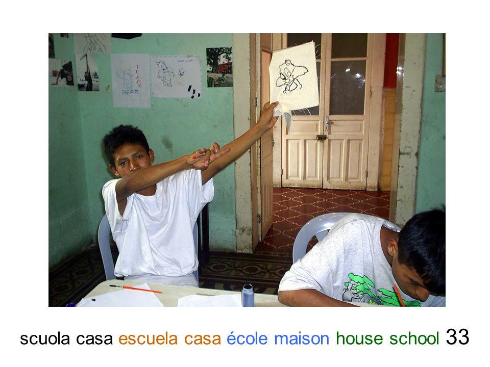 scuola casa escuela casa école maison house school 33