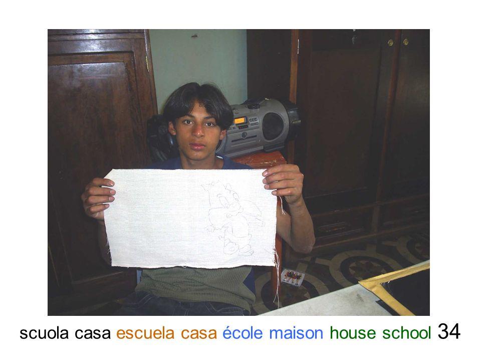 scuola casa escuela casa école maison house school 34