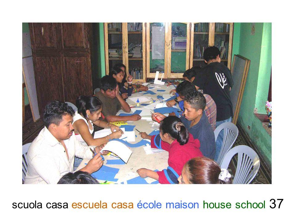 scuola casa escuela casa école maison house school 37