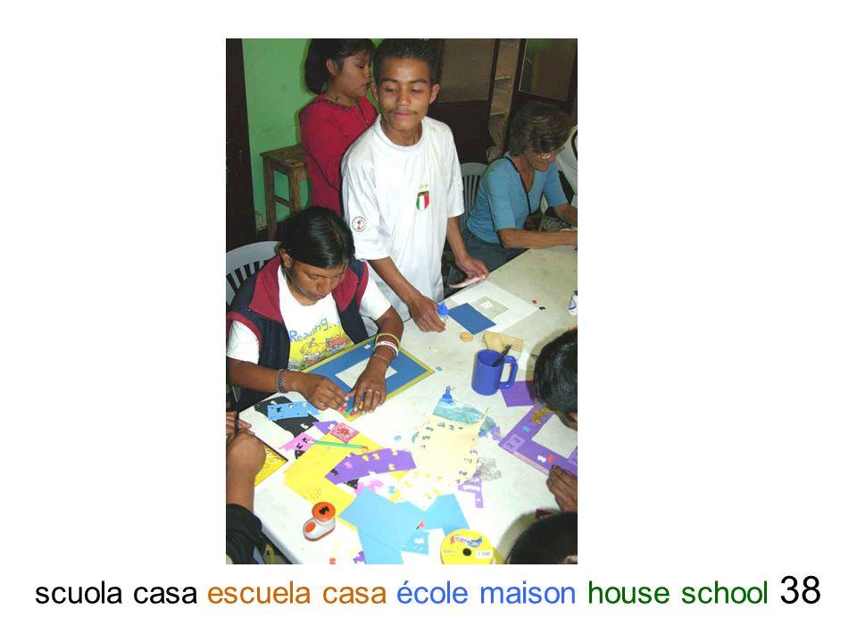 scuola casa escuela casa école maison house school 38