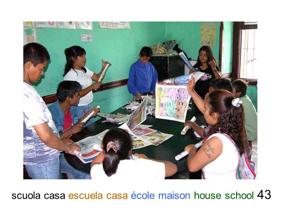 scuola casa escuela casa école maison house school 43