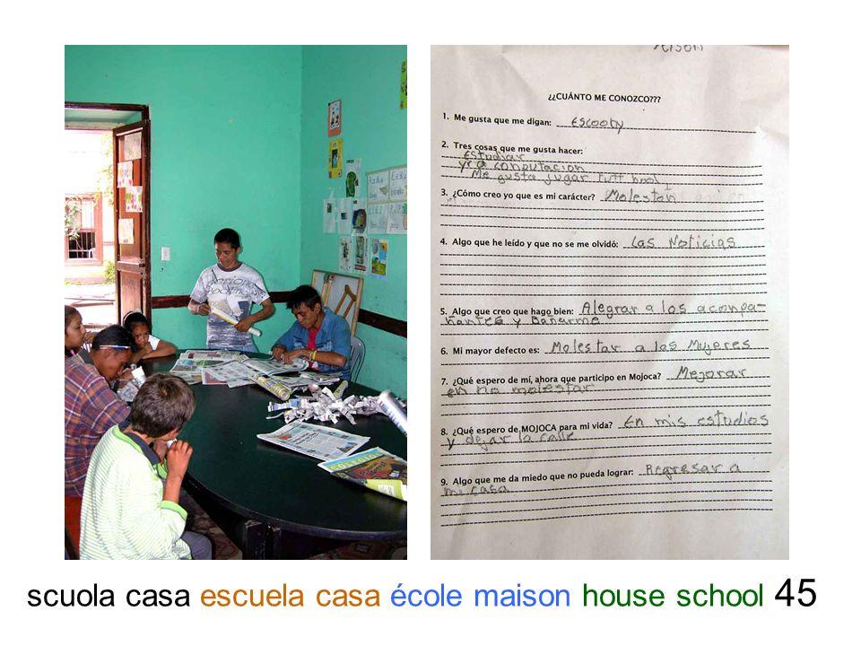 scuola casa escuela casa école maison house school 45
