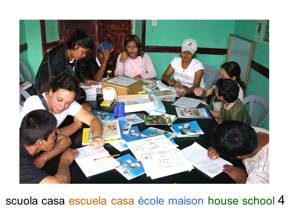scuola casa escuela casa école maison house school 4