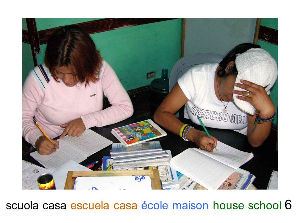 scuola casa escuela casa école maison house school 6