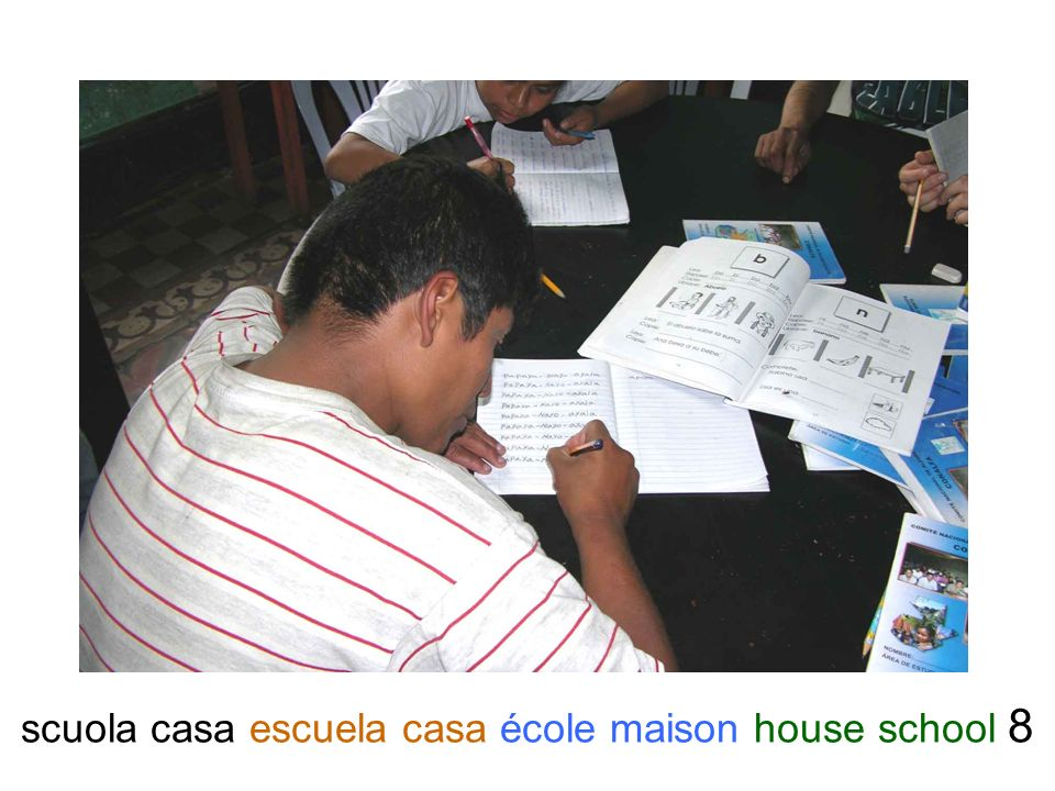 scuola casa escuela casa école maison house school 8