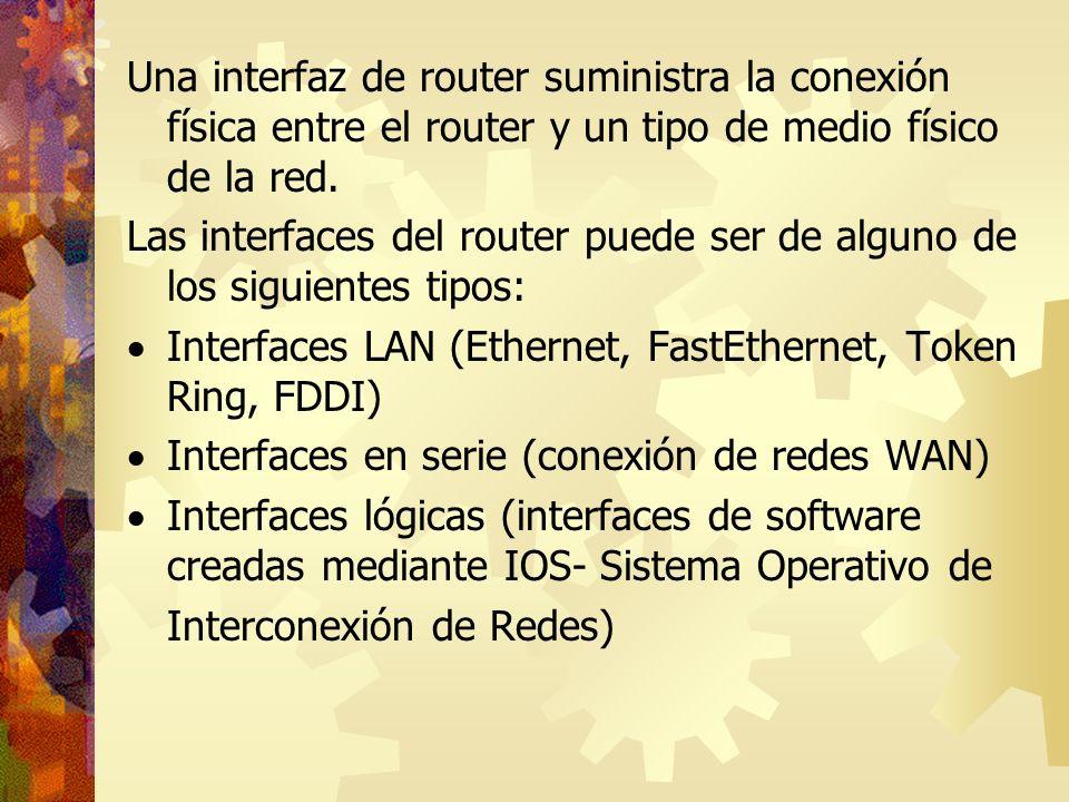 Tablas de Host en el router El IOS mantiene una tabla de nombres de host y de las direcciones correspondientes.
