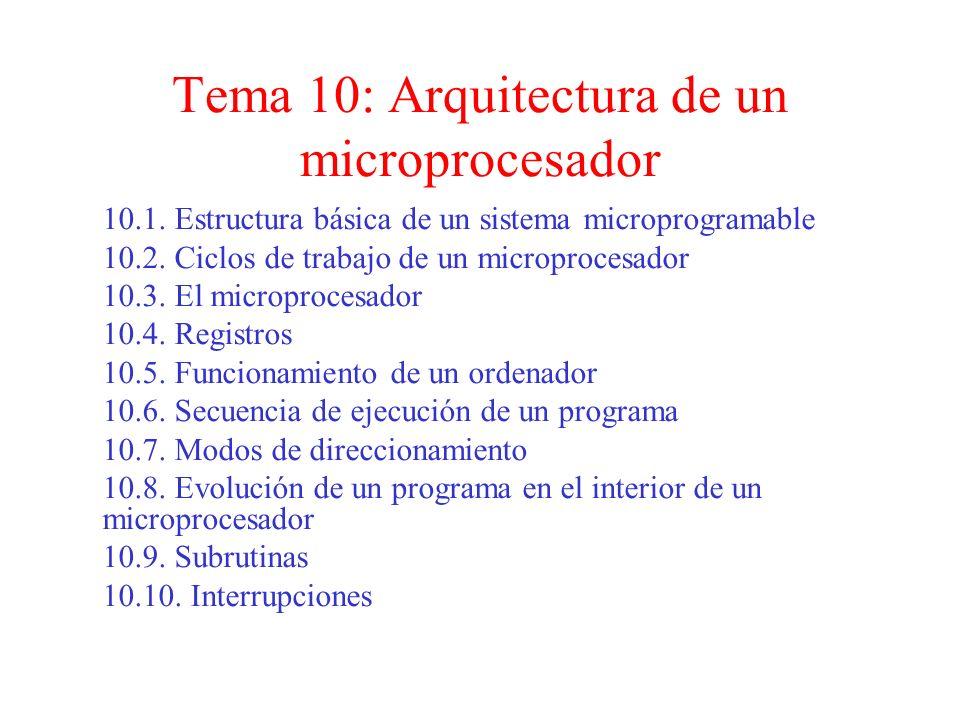 Clasificación de los microprocesadores Se clasifican en función de la longitud del bus de datos.