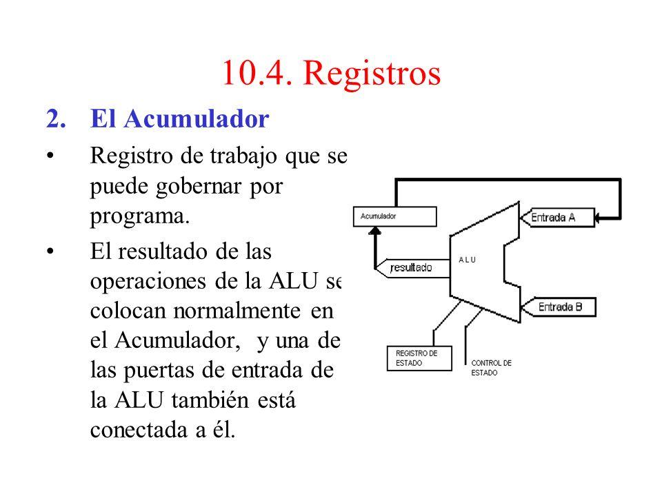 La Unidad de Control actúa sobre su contenido de dos maneras: –Por incrementación: cuando el código de la operación no implica salto de secuencia, la