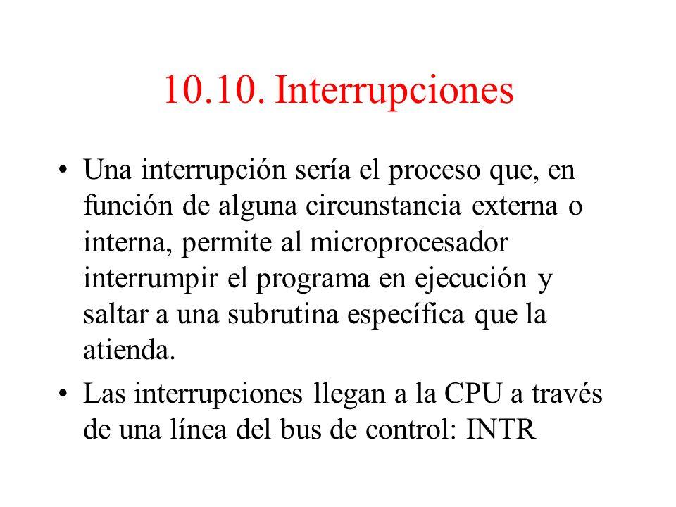 10.9. Subrutinas Para disminuir el tamaño de los programas que contienen tareas repetitivas, se han ideado las subrutinas, que se pueden definir como