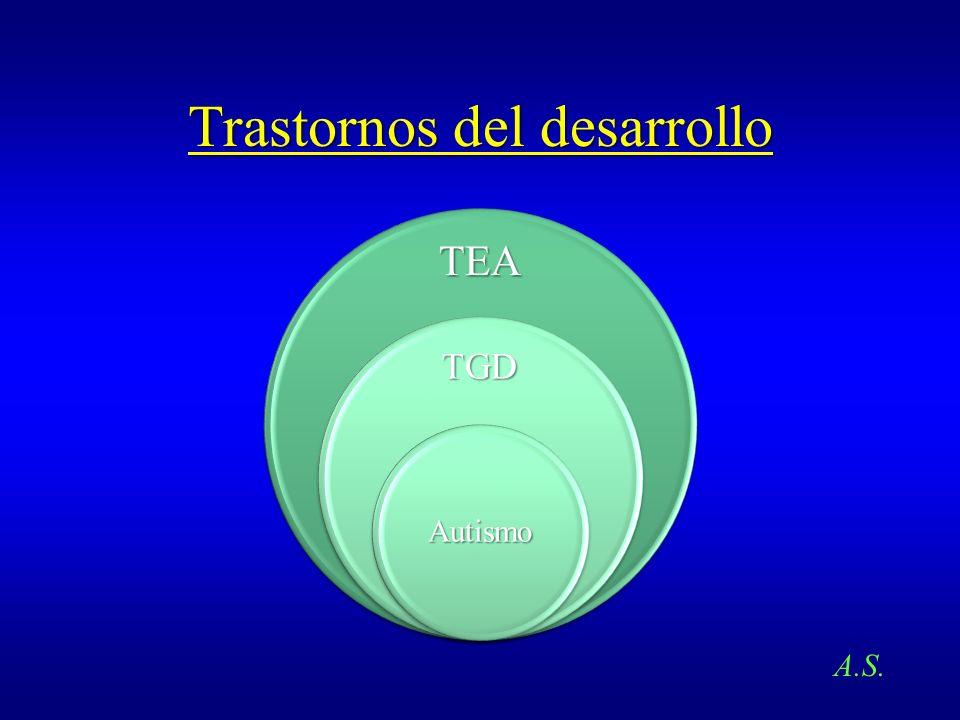 Trastornos del desarrollo TEA TGD Autismo A.S.