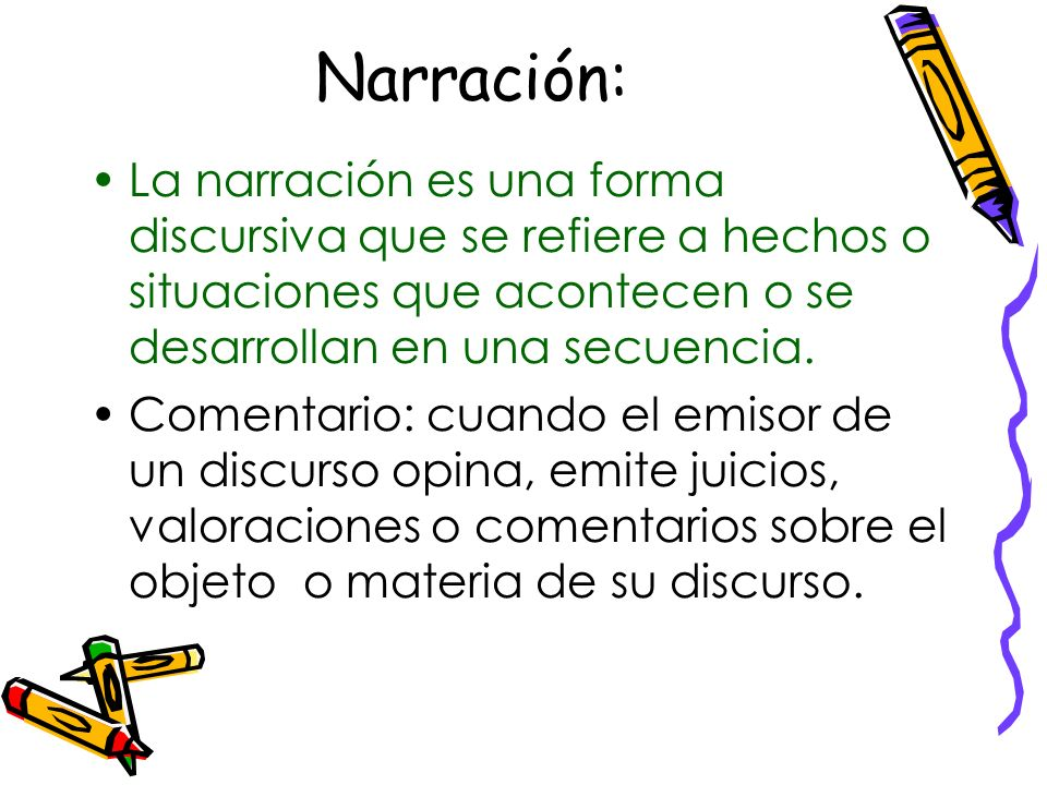 Caracterización: Cuando se describe personas, personajes, hablaremos de caracterización.