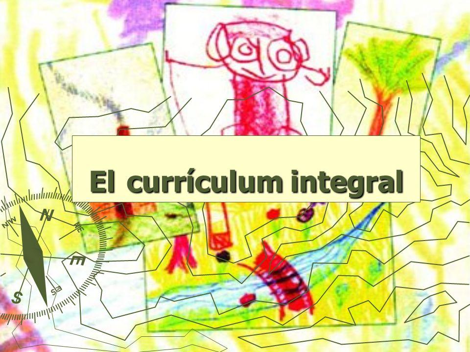 ¿Qué es el currículum integral.