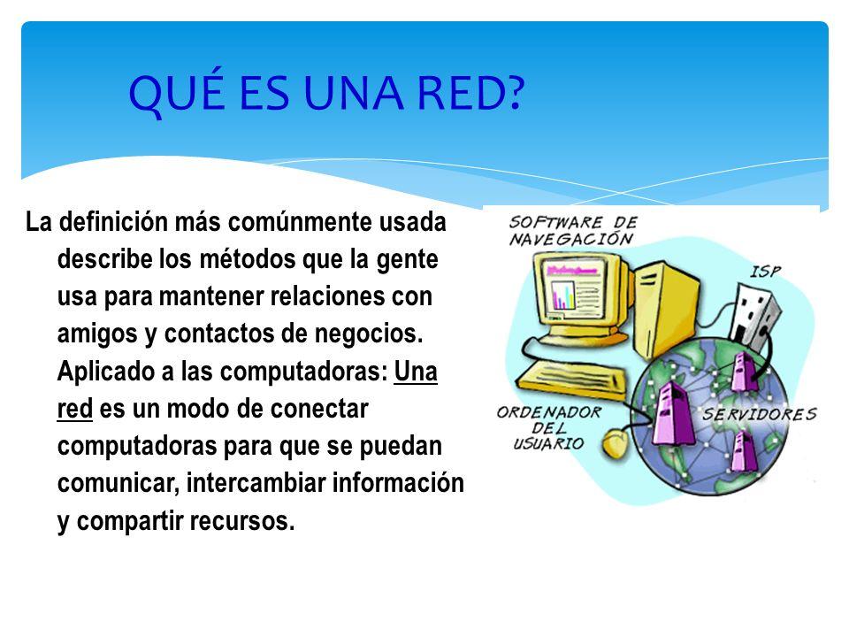 3 USOS DE UNA RED Permitir el acceso simultáneo a programas e información muy importantes.