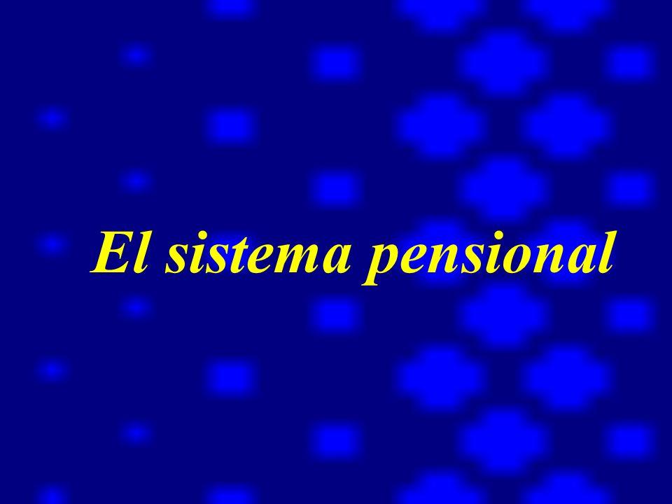 El sistema pensional