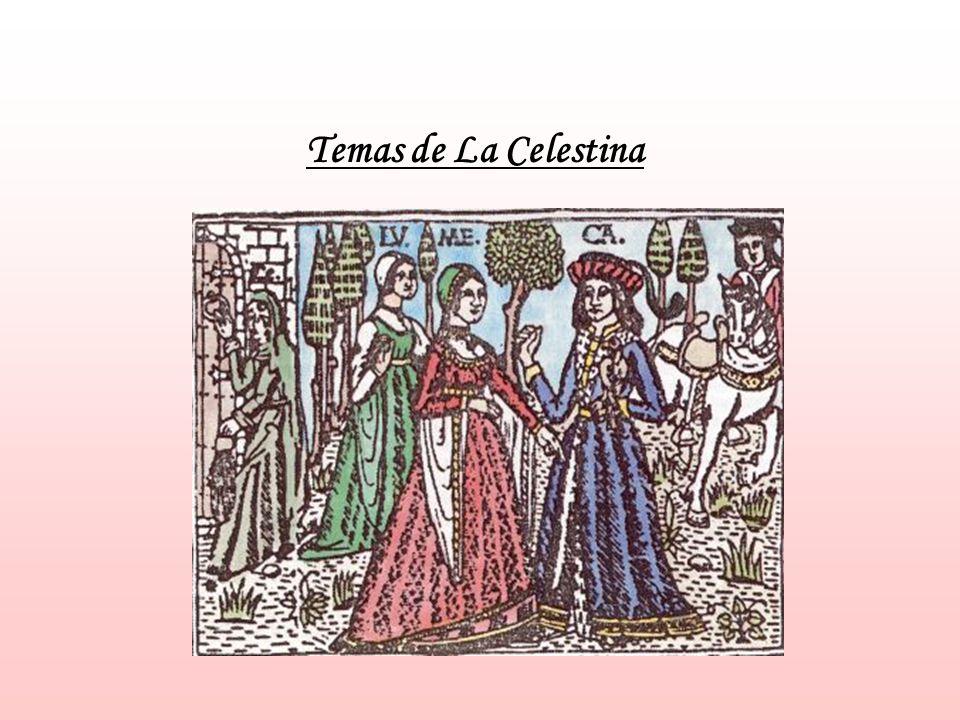 Temas de La Celestina