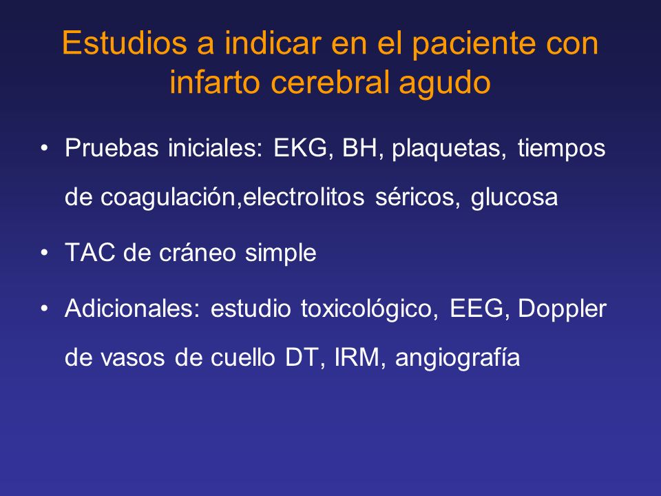 Escala Placebo % rt-PA% Rankin 0-126 39* P=.01 2-325 21 4-527 23 GOS 132 44* P=.02 222 17 3-425 22 N Engl J Med 1995; 333:1581 NINDS rt-PA Study