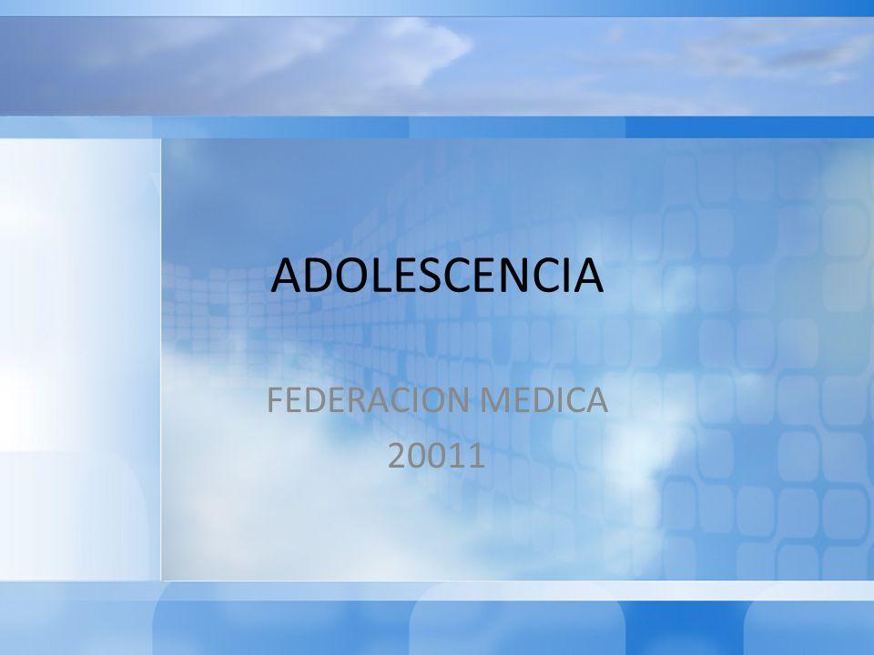 DEFINICION Es la etapa de la vida entre los 10 y 19 años, en el cual tiene lugar el empuje de crecimiento puberal y el desarrollo de las características sexuales secundarias así como la adquisición de nuevas habilidades sociales, cognitivas y emocionales(OMS).