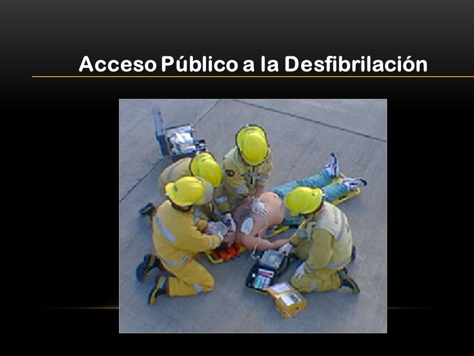 Acceso Público a la Desfibrilación
