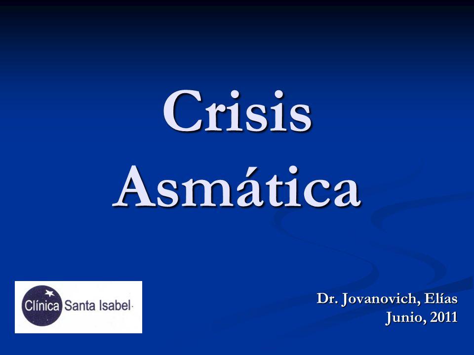 Crisis Asmática Dr. Jovanovich, Elías Junio, 2011