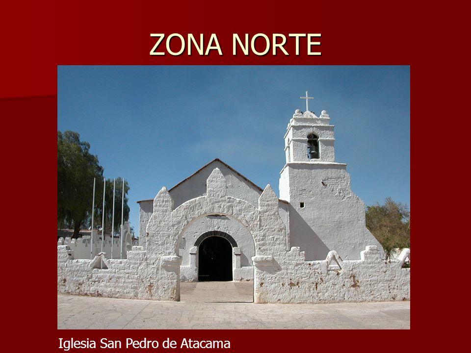 ZONA NORTE Iglesia San Pedro de Atacama