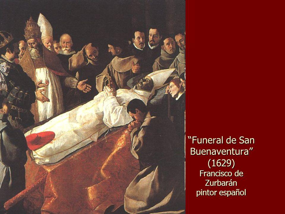 Funeral de San Buenaventura (1629) Francisco de Zurbarán pintor español