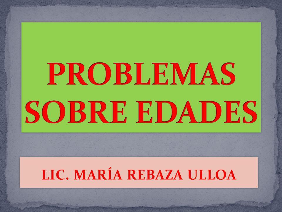 LIC. MARÍA REBAZA ULLOA