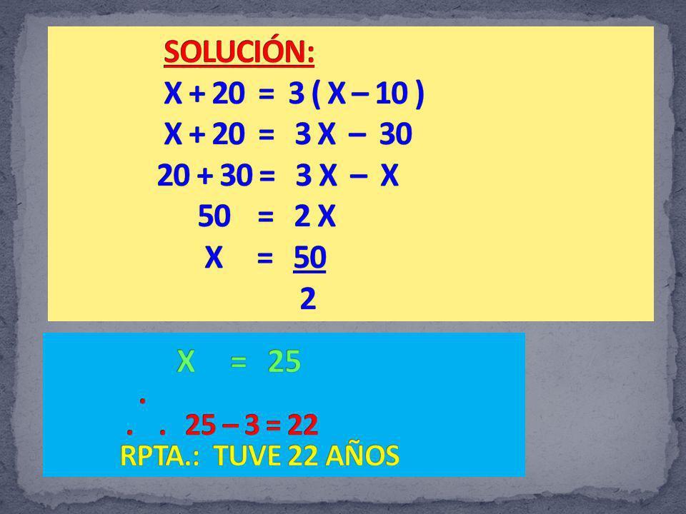 PASADOPRESENTEFUTURO YOY2X TÚXY Aplicando el criterio de las sumas en aspa: