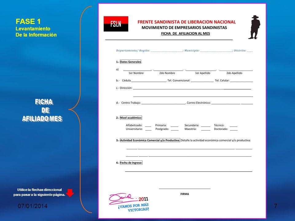 07/01/201418 PLAN DE VISITA A DEPARTAMENTOS, MUNICPIOS Y DISTRITO 2012 FASE 1: (Tiempo 3 días).