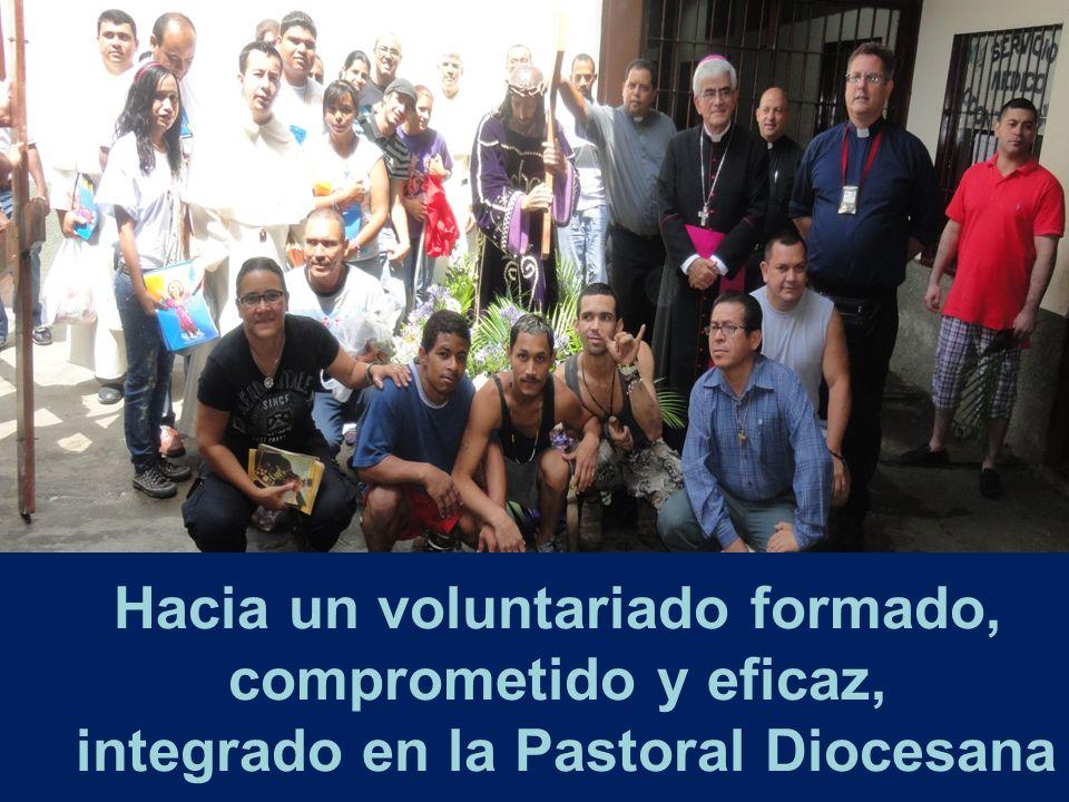 Hacia un voluntariado formado, comprometido y eficaz, integrado en la Pastoral Diocesana