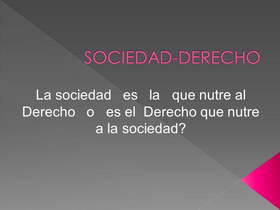 El ser humano es un ser social: Siempre ha existido y conformado sociedades.