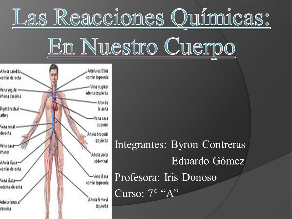 Integrantes: Byron Contreras Eduardo Gómez Profesora: Iris Donoso Curso: 7° A