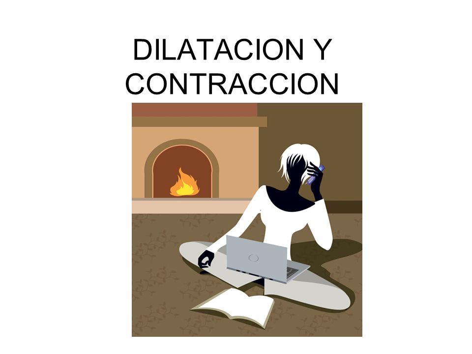 DILATACION Y CONTRACCION