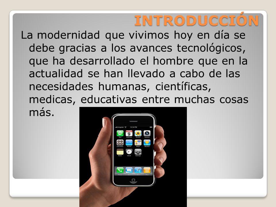 Aplicaciones en la modernidad en la tecnología La aplicación de la tecnología se ha hecho muy común en nuestra vida diaria, ya que sin ella no podremos vivir.