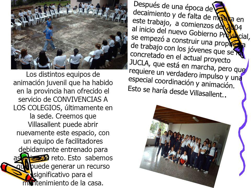 Recursos Financieros I: Se obtendr á n: - de la provincia Claretiana Colombia occidental.