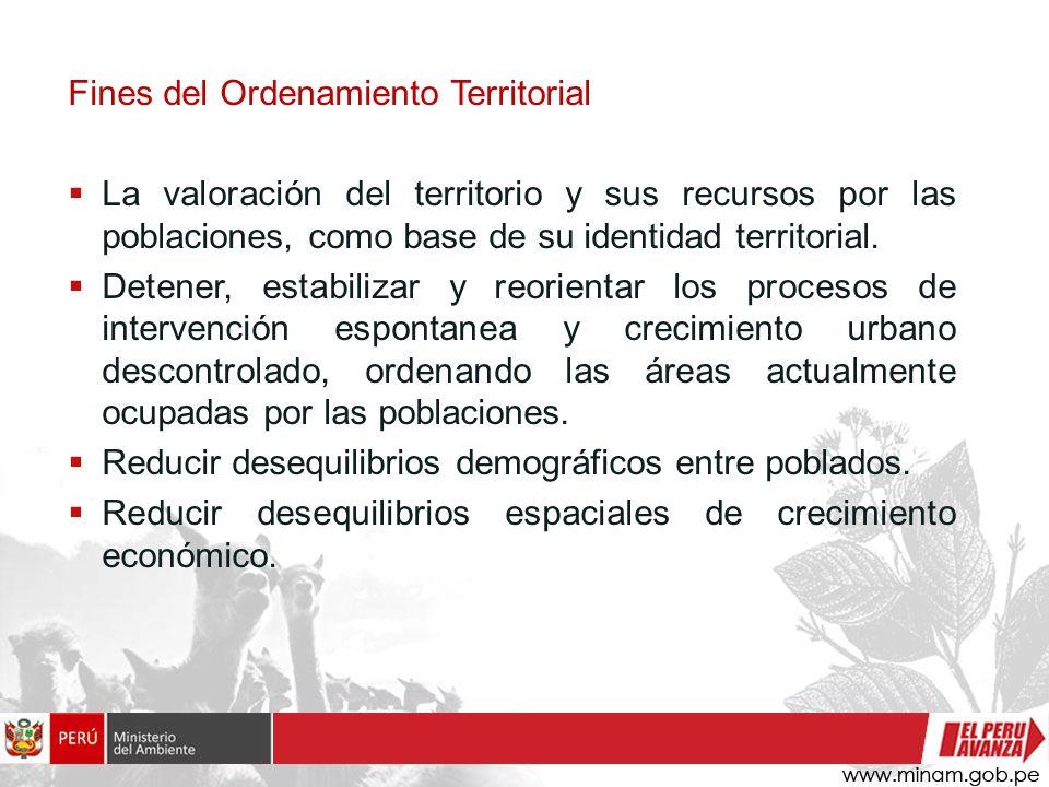 Orientación estratégica del OT Tener una visión integral que resuelva problemas claves: Pobreza, marginación, centralismo.