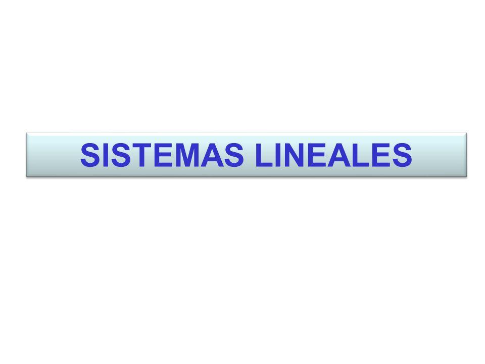 SISTEMAS LINEALES