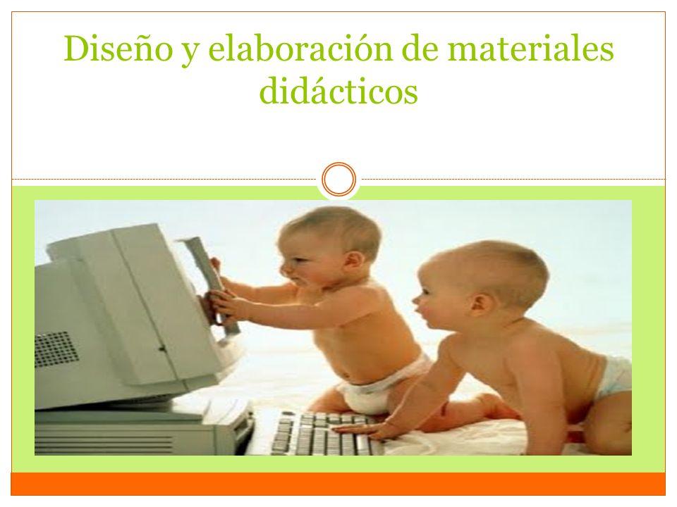 Diseño y elaboración de materiales didácticos