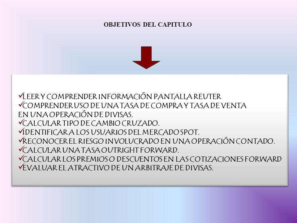 TASA INTERES IMPLICITO DE TIPO EUROPEA S – F x n x 100 F 12 452 – 460 x 3 x 100 = -0,435% 460 12 EFICACIA MERCADO MERCADO ES EFICAZ SI LOS PRECIOS REFLEJAN TODA LA INFORMACIÓN DISPONIBLE SI TASAS A PLAZO PRONOSTICAN CON PRECISIÓN LAS FUTURAS TASAS SPOT