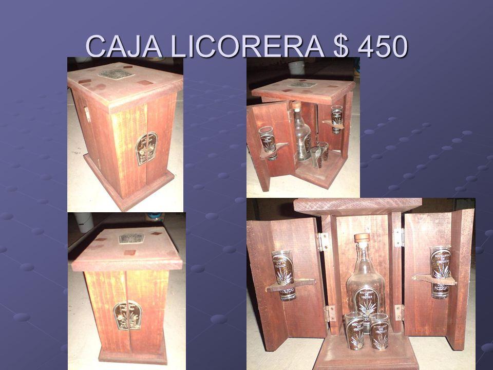 CAJA LICORERA $ 450