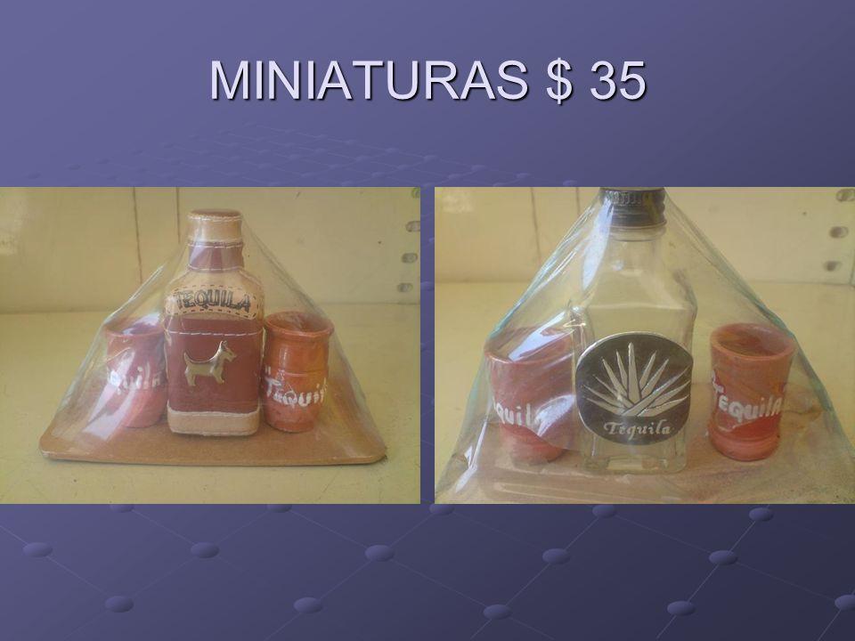 MINIATURAS $ 35