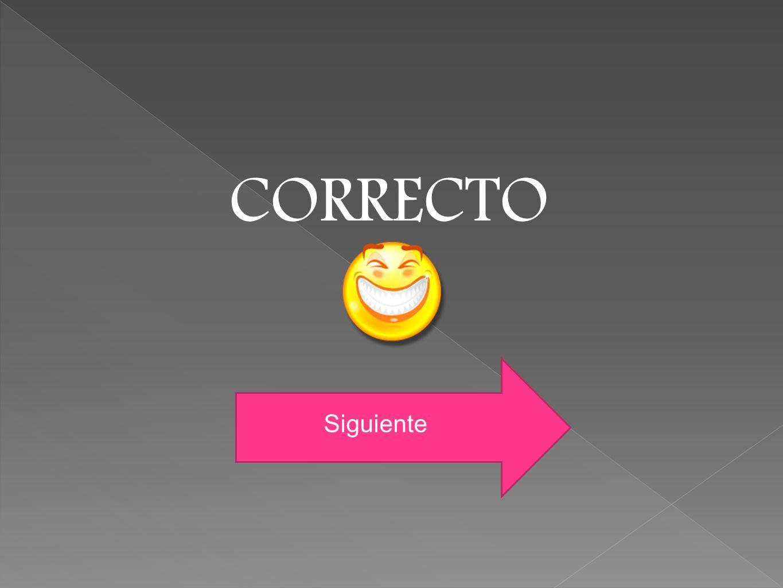 CORRECTO Siguiente