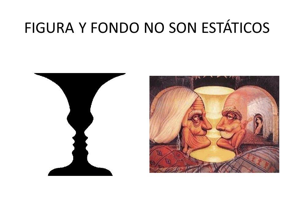 FIGURA Y FONDO NO SON ESTÁTICOS