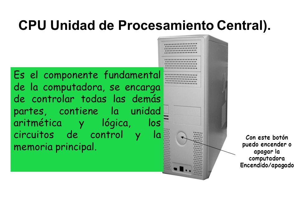 Es uno de los dispositivos externos más importantes, a través del cual podemos observar mediante imágenes la interacción de la computadora con el usuario.