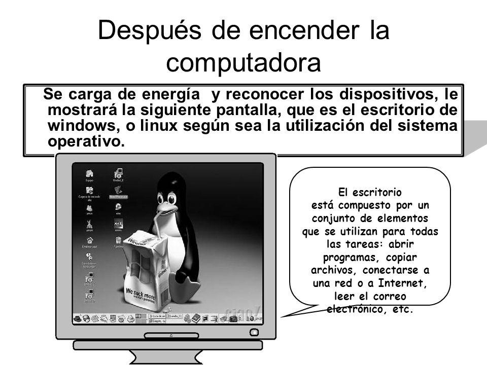 Después de encender la computadora Se carga de energía y reconocer los dispositivos, le mostrará la siguiente pantalla, que es el escritorio de window