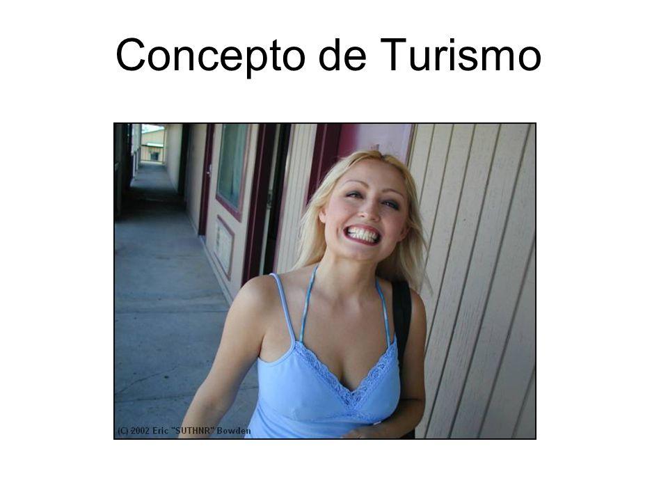 Concepto de Turismo