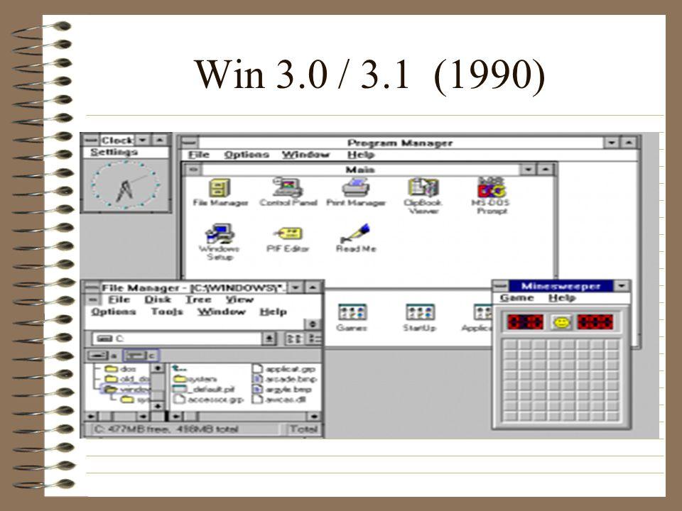 Win 3.0 / 3.1 (1990)