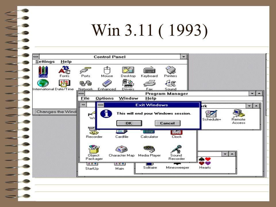 Win 3.11 ( 1993)