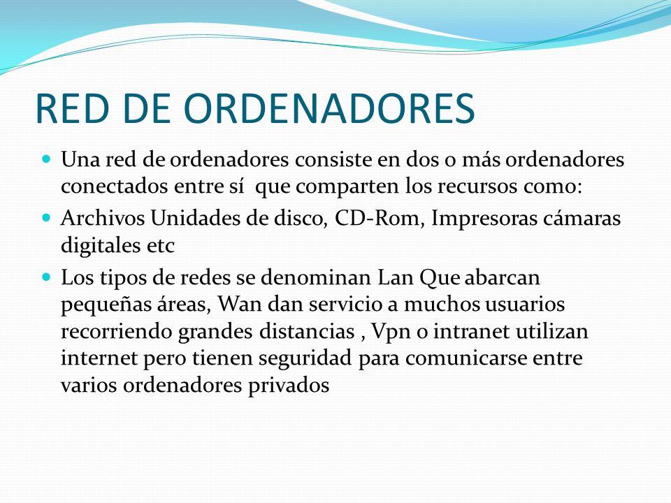 LAN MAN WAN RDSI Atendiendo al ámbito que abarcan, tradicionalmente se habla de: Redes de Área Local (conocidas como LAN) que conectan varias estaciones dentro de la misma institución, Redes de Área Metropolitana (MAN), Area extensa (WAN), Por su soporte físico: Redes de fibra óptica, Red de servicios integrados (RDSI),