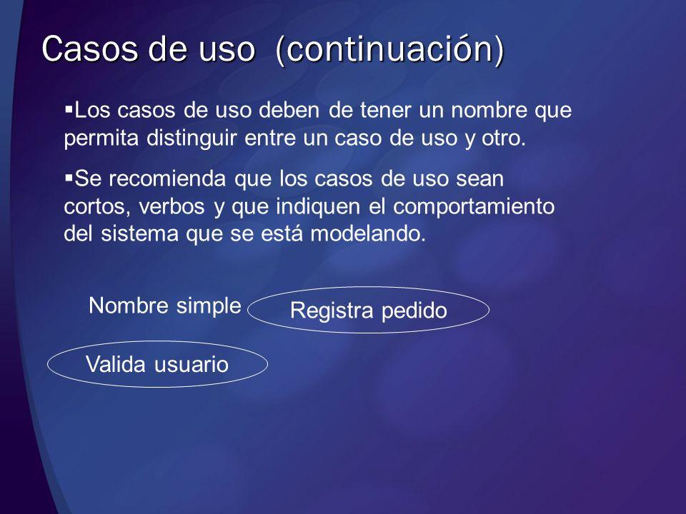 Diagramas de Casos de uso Un diagrama de casos de uso es uno de los diagramas en UML para modelar la funcionalidad del sistema Muestra un conjunto de casos de uso, actores y sus relaciones.