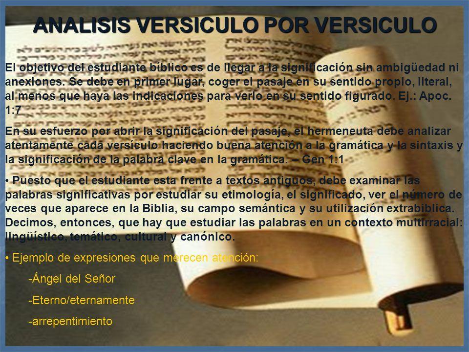 Hermenéutica22 Reconocer que para que una información sea históricamente cierto no es imperativo que las diferentes informaciones dadas sean idénticos